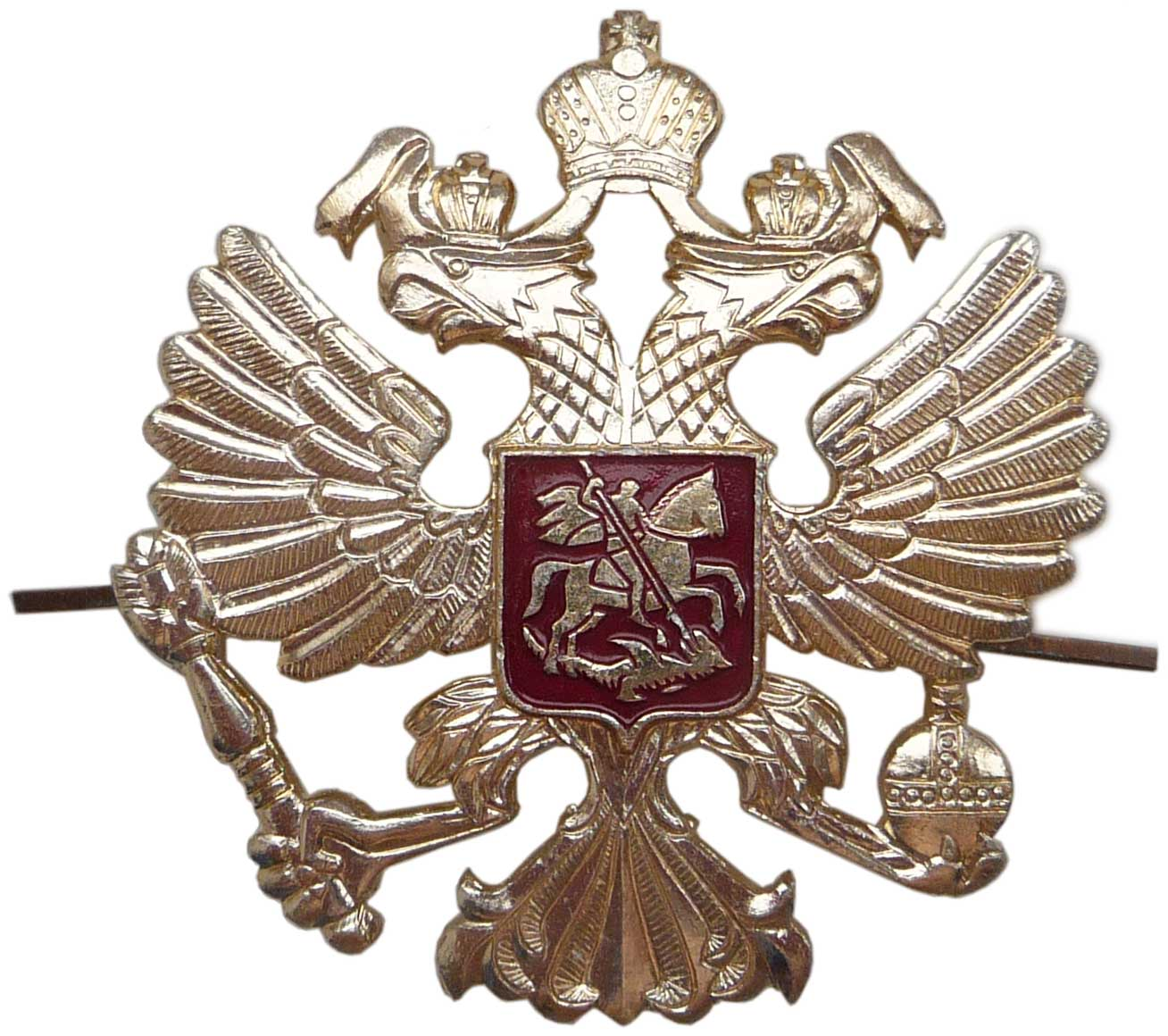 4aa98bd815fba Russian Imperial Eagle hat badge ...