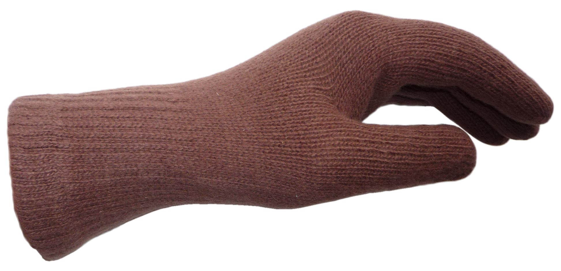 Army Officer Military. New Russian Brown Knitted Wool Gloves