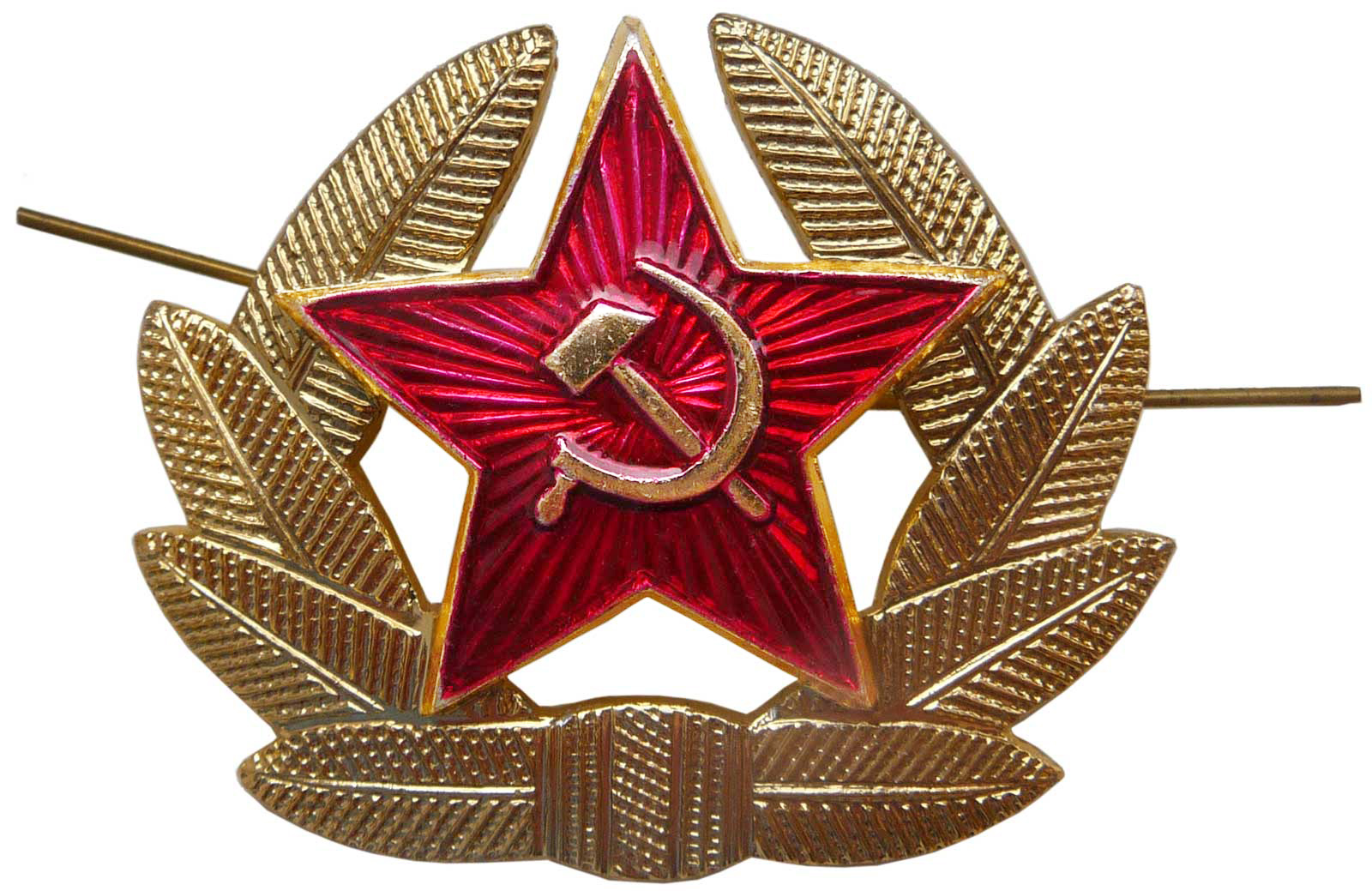 054f8453a4e Soviet Army soldier hat insignia · One inch classic Soviet Red Star ...