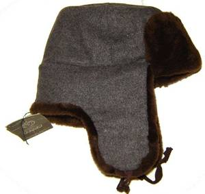Brown Russian Army ushanka
